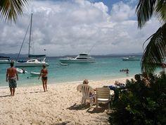 Soggy Dollar Bar, Jost Van Dyke, BVI...one of the most beautiful  beaches!