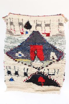 They can also be hung on walls. Authentic vintage rugs that make a warm statement. Textiles, The Little Prince, Home Art, Interior Inspiration, Vintage Rugs, Bohemian Rug, Objects, Artisan, Collage