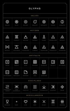 UI / glyphs again