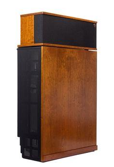 a Klipschorn corner speaker