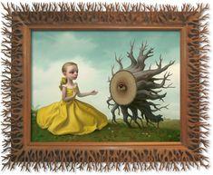 Mark Ryden - King of Pop Surrealism Mark Ryden, Art And Illustration, Arte Lowbrow, Art Pop, D Mark, Ouvrages D'art, Artwork Images, Surreal Art, Art Design