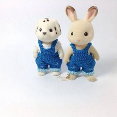 Calico Critters/ Sylvanian Families Crochet by AmigurumiByMe