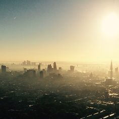 #london this morning. Early #morning mist hanging around the #city #weather #cityscape #england #britain #instalike #instalondon #instafollow