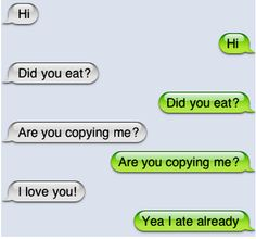 I can totally see my son doing this to me!!!
