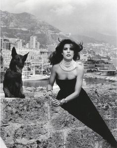 Caroline of Monaco by Helmut Newton...she was gorgeous....her daughter Charlotte Casiraghi was recently the face of Gucci Fall /Winter 2012 campaign....Caroline posseses her mother's elegant beauty