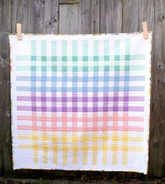 MessyJesse - a quilt blog by Jessie Fincham: Glorious Gingham Quilt Finish