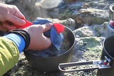 How to Wash Dishes in Camp