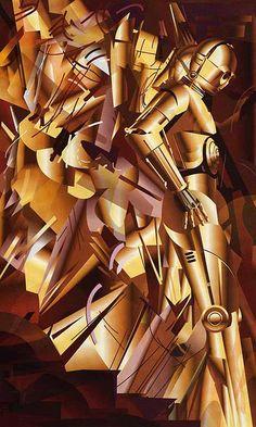 C3PO Descending a Staircase  Sci fi art history (3)