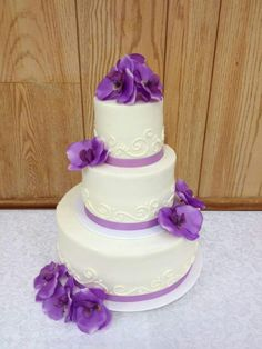 Small 3 Tier Wedding Cake Weddingcakes Simple
