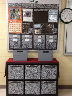 More ideas for classroom - all Thirty-One except cubeshelving from Target!