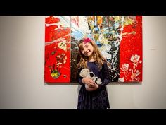 Aelita Andre painting Paris Mountains - YouTube
