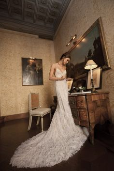 Inbal Dror Haute Couture Wedding Dress Collection - Wedding Blog | Ireland's top wedding blog with real weddings, wedding dresses, advice, wedding hair styles, wedding venue guides and more