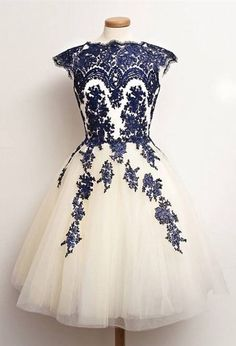 Vintage dresses,short homecoming dresses,tulle homecoming dresses,lace homecoming dresses,