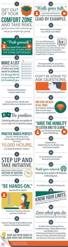 Make it or break it: 25 tips to be successful by Rappler