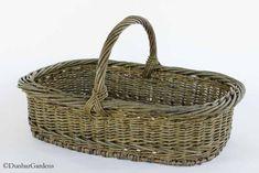 willow_potluck_basket - Willow Baskets by Katherine Lewis Basket Willow, Willow Weaving, Basket Decoration, Anniversary Gifts, Baskets, Newspaper, Fiber Art, Gardens, Craft