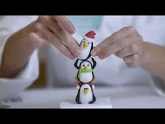 Christmas Penguins Tutorial - CakesDecor