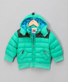 4e17d9d3cb5752 Green Padded Coat - Infant & Toddler by Hadleigh on #zulilyUK today!