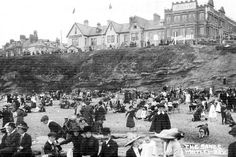 The golden age of going to the seaside in the North East - Chronicle Live Old Pictures, Old Photos, Vintage Photos, Newcastle Gateshead, North Shields, Northumberland England, North East England, Fishing Villages, Historical Pictures