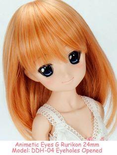 """Volks- Animetic eyes """"G type"""" Dark Blue/Rurikon   Dollfie Dream Sister Dynamite Mini DDdy DD DDS MDD DDH04"""