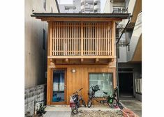 Captivating Small Buildings of Kyoto by Photographer John Einarsen Goes into the Second Round Japanese Buildings, Modern Japanese Architecture, Small Buildings, Asian Architecture, Sustainable Architecture, House Architecture, Residential Architecture, Small Japanese House, Traditional Japanese House