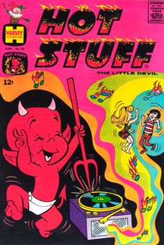 Hot Stuff, The Little Devil — June 1968 Comic Book