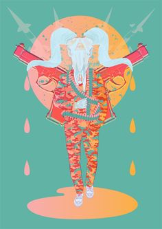 Business As Usual by Joe Murtagh, via Behance