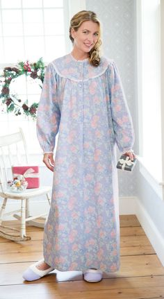 4e1448a09b old lady option 2 Flannel Nightgown