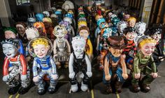 Oor Wullie hits the street for charity art project - http://streetiam.com/oor-wullie-hits-the-street-for-charity-art-project/