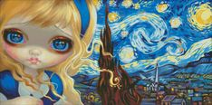 Alice In The Starry Night - Jasmine Becket-Griffith