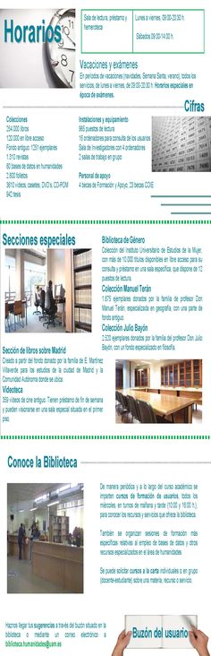 Guía de centro Biblioteca de Humanidades parte interior (2007)