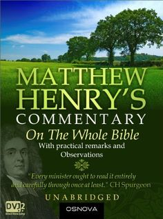 Unabridged Matthew Henry's Commentary has long been celebrated as the best of English commentaries of the Bible for devotional purposes. It was used and highly favored by Charles  Spurgeon and George Whitefield themselves!
