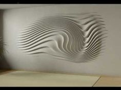 wall relief decoration - interior design - YouTube