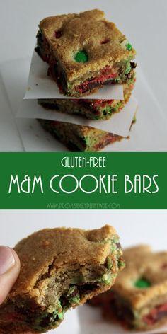 Easy gluten-free M&M