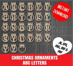 You get 5 file formats SVG,PDF,EPS,AI and DXF You may sell the product but you may not sell or distribute the digital file. Dog Christmas Ornaments, Christmas Svg, Christmas Countdown, Christmas Decorations, Mothers Day Post, Easter Egg Designs, Acrylic Tips, Laser Cut Files, Wooden Coasters