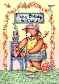 Debbie Mumm - Happy Birthday Grandma