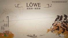 Wochenhoroskop: Löwe (KW 41 - 2016) - So stehen deine Sterne Kinder Wochen vom 10. - 16.10.2016 #Horoskop #Löwe #Liebe #Gesundheit #Job