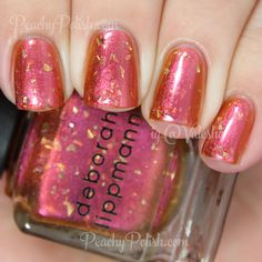 Deborah Lippmann Marrakesh Express | Holiday 2014 Fantastical Collection | Peachy Polish