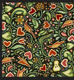 Julie Paschkis fabric