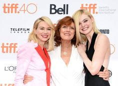 Susan Sarandon, Naomi Watts and Elle Fanning at event of Conociendo a Ray (2015)
