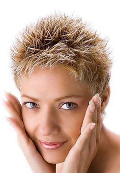 Very Short Spiky Hairstyles Women New very short spiky