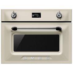 Combi MIcrowave Victoria Retro Style Oven in Cream