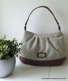 Handbag purse shoulder bag diaper bag or everyday by boonestaakjes, $60.00