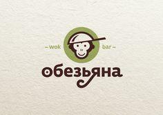 Monkey logo by Kostrikin