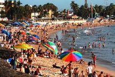 Colorful beach attire