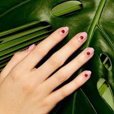 Fingernägel Trends 2016 Pünktchen Fingernägel Muster
