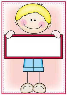 CLASSROOM LABELS & SIGNS - STICK KID CUTIES THEME - TeachersPayTeachers.com