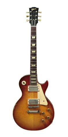 """Billy Gibbons   '59 Gibson Les Paul Standard, """"Pearly Gates."""""""