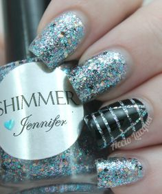 Accio Lacquer: Shimmer Polish: Jennifer