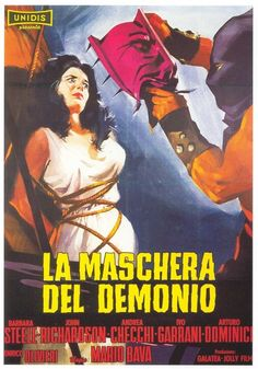 "MP620. ""La Maschera Del Demonio"" Italian Movie Poster (2) by Giuliano Nistri (Mario Bava 1960) / #Movieposter"