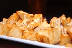 Oh my! I love bravas. Bravas are something you would order when meeting a friend…